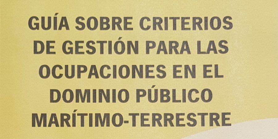 GUÍA DE CRITERIOS DE GESTIÓN PARA OCUPACIONES EN DPMT EN ANDALUCIA