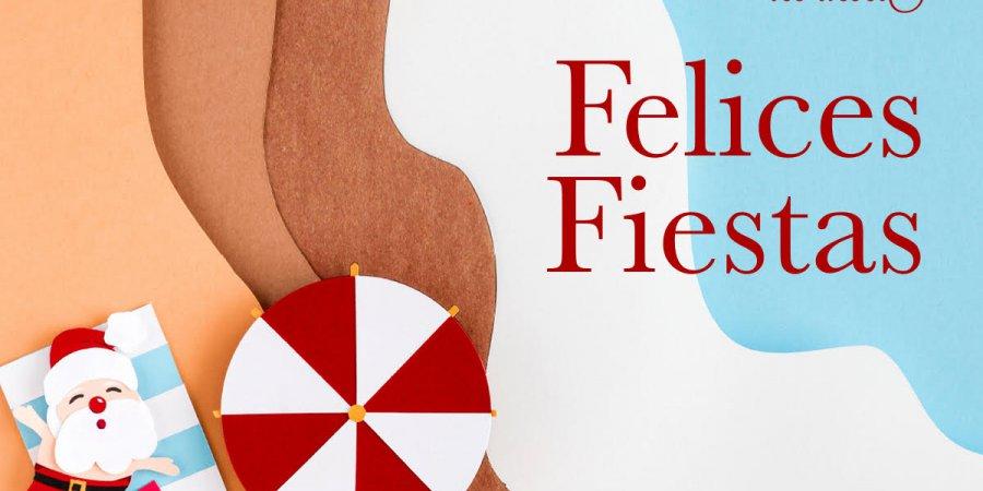 FEDERACION ESPAÑOLA DE EMPRESARIOS DE PLAYAS Y FAEPLAYAS LES DESEA UNAS FELICES FIESTAS.